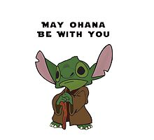 Lilo & Stitch Yoda Star Wars by N1K0VE
