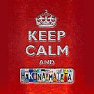 Keep Calm and Hakunamatata - iphone 5, iphone 4 4s, iPhone 3Gs, iPod Touch 4g case by pointsalestore Corps