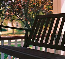 Porch Swing by Jenna Boettger Boring