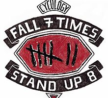 Fall 7 Times, Stand up 8 by CYCOLOGY