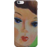 Brunette Barbie Closeup iPhone Case/Skin