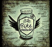 Bike Culture - Yoghurt Jar by CYCOLOGY