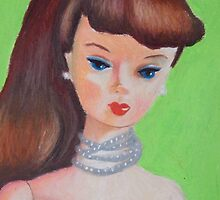Brown Haired Barbie by RustyandJosh