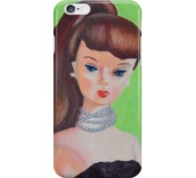 Brown Haired Barbie iPhone Case/Skin