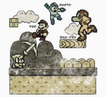 Mega Man Joins The Battle! Kids Clothes