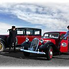 David & Phil from Hooters Vintage & Classic Vehicle Hire Napier NZ by SeeOneSoul