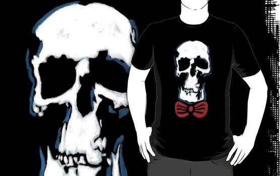 Wholock skull and bowtie by MexiPanda13