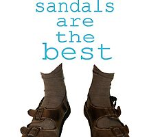 Dad sandals are the best by DanYELL