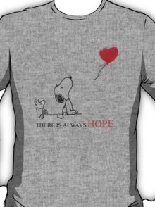 Snoopy - There is always hope T-Shirt