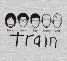Train - Band Faces - Hector, Jerry, Pat, Jimmy & Scott by ILoveTrain