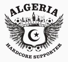 Algeria Hardcore Supporter by worldcup