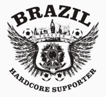 Brazil Hardcore Supporter by worldcup