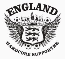 England Hardcore Supporter by worldcup