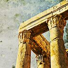 The Temple of Antoninus and Faustina, Rome, Italy by buttonpresser
