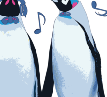 King Penguin's Love Song Sticker