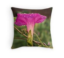 """Glory In The Rain"" Throw Pillow"