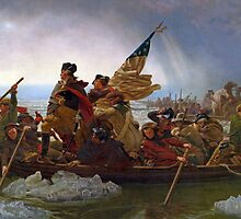 Washington Crossing the Delaware by Bridgeman Art Library