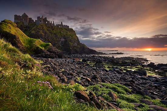 Dunluce Sunset by Derek Smyth