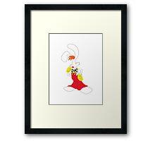 roger rabbit Framed Print