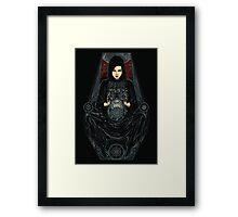 Catch the venus Framed Print