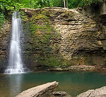 Hayden Falls in Dublin, Ohio by Kenneth Keifer