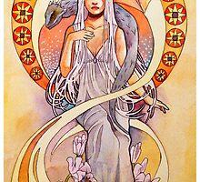 Daenerys Targaryen by NeverBird