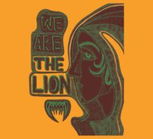 We are the lion. by Angelina Elander