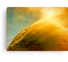 Solar Wind on the Orange Planet Canvas Print