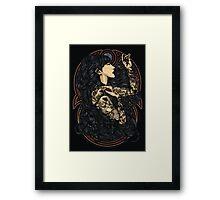 unblessed live Framed Print