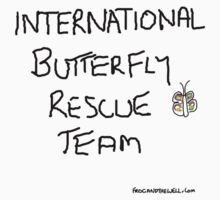 International Butterfly Rescue Team by Frogandthewell