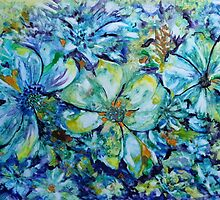 Summertime Blues by ksgfineart
