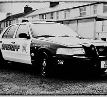 usa sheriff car by paul35