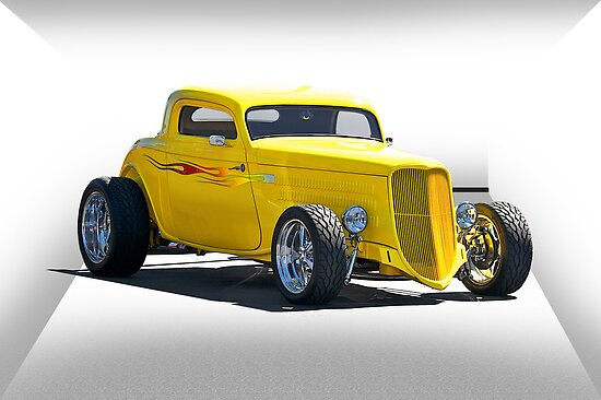 1934 Ford Coupe 'Paradym Shift' by DaveKoontz