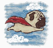 Flying Pug by Toru Sanogawa