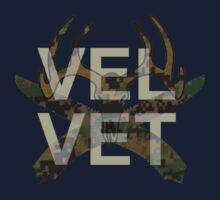 Velvet Deer Skull and Crossbone Marpat by Everwind