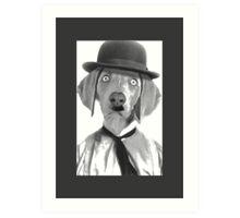 Haha i am Charlie Chaplin Art Print