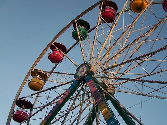Ferris Wheel by wickedmommicked
