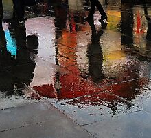 Rain and reflections by Heather Thorsen