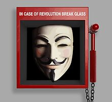 IN CASE OF REVOLUTION BREAK GLASS by w1ckerman