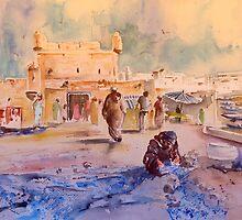 Morocco - Essaouira Harbour 01 by Goodaboom