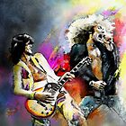 Jimmy Page and Robert Plant by Goodaboom