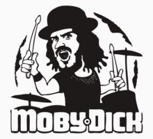 John Bonham Moby Dick T-Shirt by GeekLab