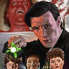 Doctor Who and The Crimson Horror by marksatchwillart