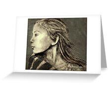 Mariah Drawing Greeting Card