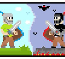 Good VS Evil (8-BIT) by Joels-Swag
