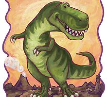 Animal Parade Tyrannosaurus by Traci VanWagoner