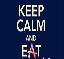 Keep Calm Eat Bacon by MadSkillzDesign