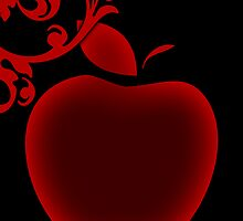 apple flourish by maydaze