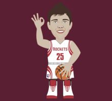 NBAToon of Chandler Parsons, player of Houston Rockets by D4RK0