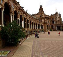 El Real Alcazar ( Plaza de España ) by Janone